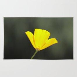 California golden poppy Rug