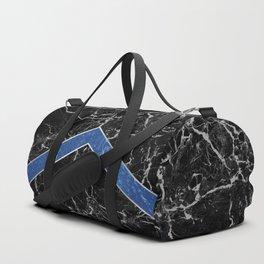 Arrows - Black Granite & Blue Granite #595 Duffle Bag