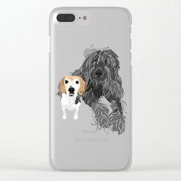 Max and Jimmy Clear iPhone Case