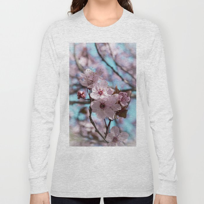 Sakura.Cherry Blossom Long Sleeve T-shirt