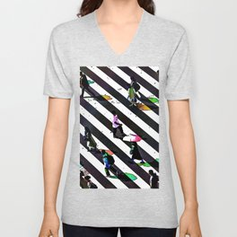 CROSSWALK Unisex V-Neck