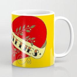 I Heart Titties, Colourful Coffee Mug