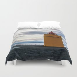 Lighthouse at the Point Duvet Cover