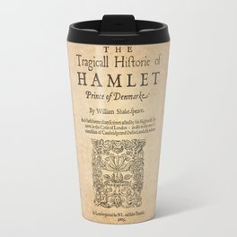 Shakespeare, Hamlet 1603 Travel Mug