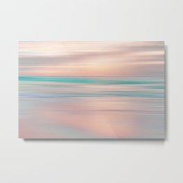 SUNRISE TONES Metal Print