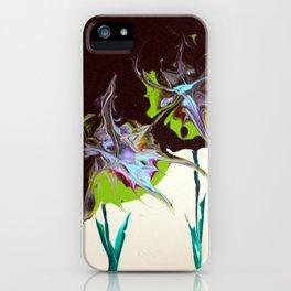 Abstract Beauties - Flower Splash iPhone Case