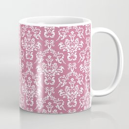 Mulberry Ornamental Flower & Vines Pattern Coffee Mug