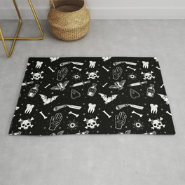 A Few Macabre Things Rug