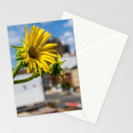 Yellow Flower in NYC Stationery Cards