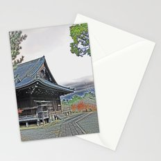 Temple at Dusk Stationery Cards