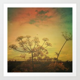 Summer Enchantment Love Art Print