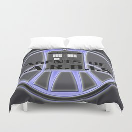 Agents of TARDIS Doctor Who Agents of Shield Mash Up Duvet Cover