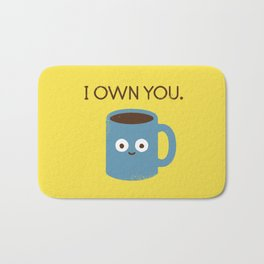 Coffee Talk Bath Mat