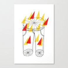 Hot Pants Canvas Print