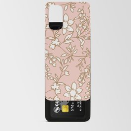 Wildflower CottageCore English Garden Android Card Case