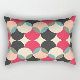 Circles forms engineering Rectangular Pillow
