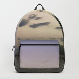 Boulevard summer sundown Backpack
