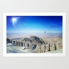 Between Worlds Art Print