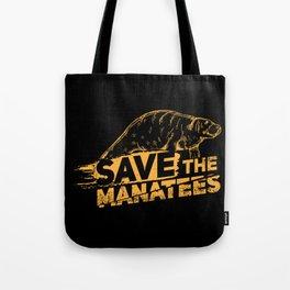 Save The Manatees I - Nature & Wildlife Gift Tote Bag