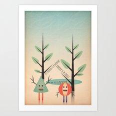 al&bero Art Print