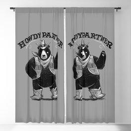 Howdy Partner Blackout Curtain