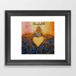 """Fearless"" Framed Art Print"
