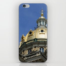 Iowa State Capitol Dome - Photography iPhone Skin
