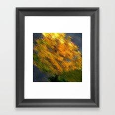 HERBST 2012. Framed Art Print