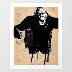 King, Kong, Kapital Art Print