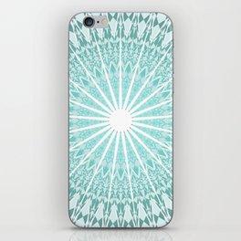 Mint Mandala iPhone Skin