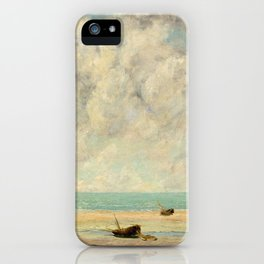 The Calm Sea - Gustave Courbet iPhone Case