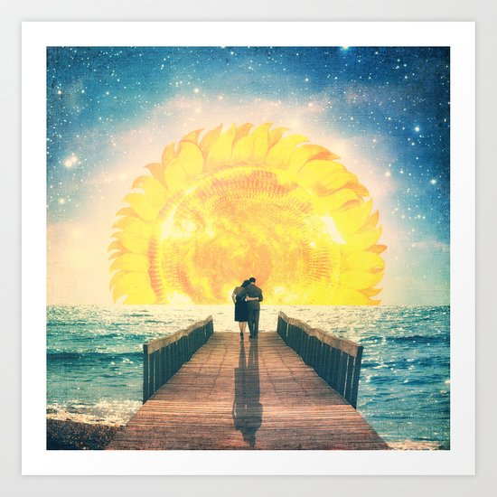 A Beautiful Sunrise Art Print