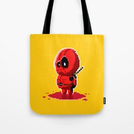 8 bit Merc with a Mouth Tote Bag