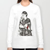 best friends Long Sleeve T-shirts featuring Best friends by Anca Chelaru
