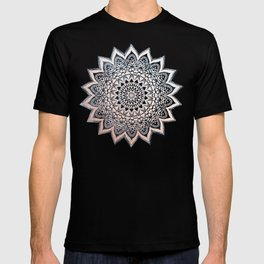 BLUE BOHO NIGHTS MANDALA T-shirt