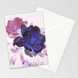 big blue floral Stationery Cards