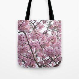 Cherry Blossom Trees. Pink flowers Tote Bag
