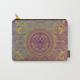 Medalion Purple Carry-All Pouch