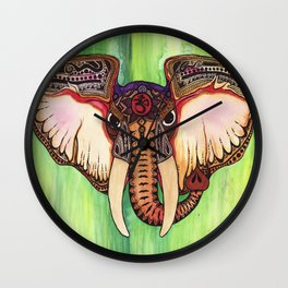 Ganesha One Wall Clock
