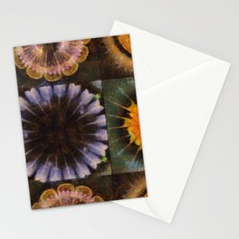 Lirellate Composition Flower  ID:16165-040917-91120 Stationery Cards