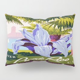 Vintage poster - Puerto Rico Pillow Sham