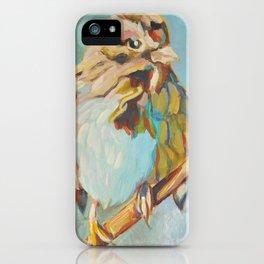 Sparrow Perch iPhone Case