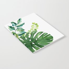 Flower and Leaves Notebook