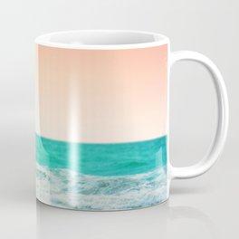 Aqua and Coral, 3 Coffee Mug