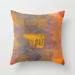 Hot Love on Fire Throw Pillow