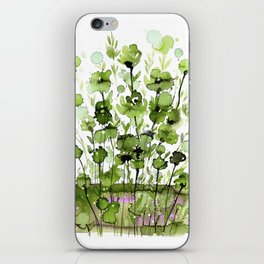 Floral Charm No.1I by Kathy Morton Stanion iPhone Skin