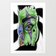 SPLASH ... D.N.A. Art Print