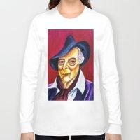 quentin tarantino Long Sleeve T-shirts featuring QUENTIN CRISP by Matthew Z Kessler
