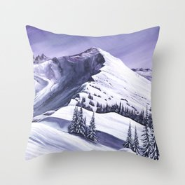 Pointe De Chesery Throw Pillow