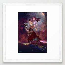 The Nebula Weaver Framed Art Print